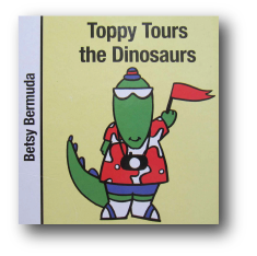 Toppy Tours the Dinosaurs Book